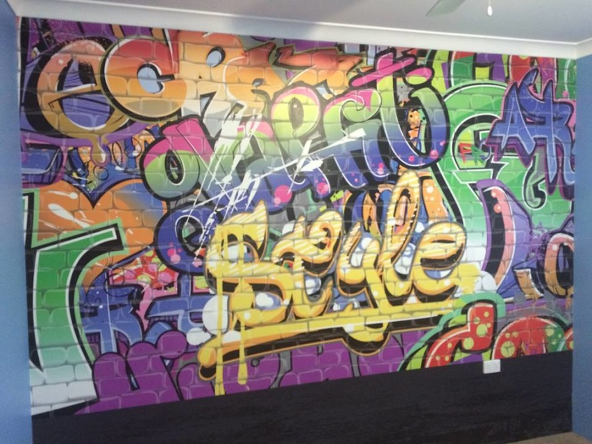 Graffiti Wall Murals